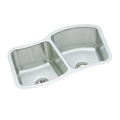 "Elkay Mystic 33.13"" x 20.5"" Undermount Kitchen Sink"
