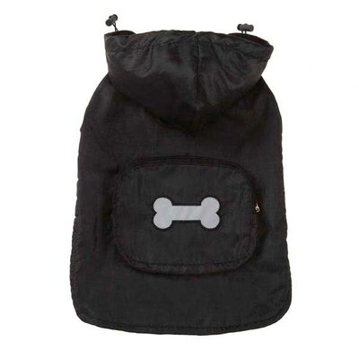 Fleece Lined Stowaway Rain Dog Jacket
