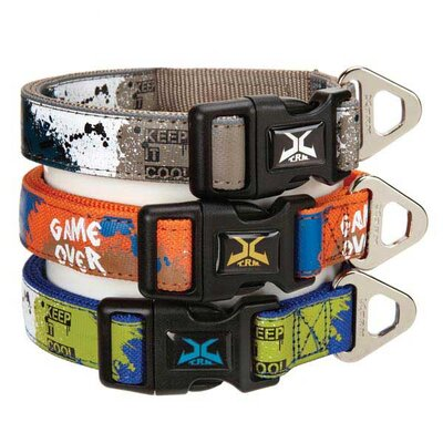 Casual Canine X-Treme Game Over Dog Collar