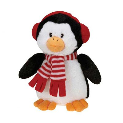 Grriggles Peppermint Penguin Dog Toy