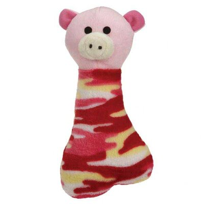 Grriggles Camo Critters Clip Strip Dog Toy (12 Pieces)