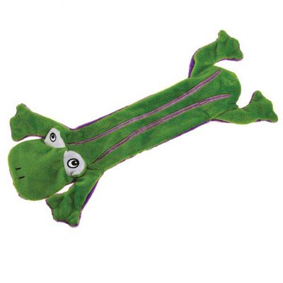 Grriggles Unstuffy Frog Dog Toy