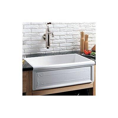33 Inch Fireclay Farmhouse Sink : Luberon 33