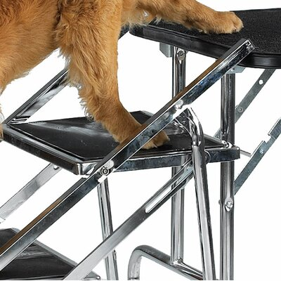 Master Equipment Non-Skid Pet Stairs for Grooming Table and SUV's