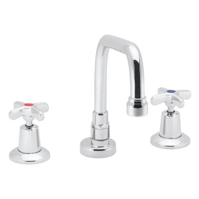 Speakman Commander Widespread Bathroom Faucet with Double Cross Handles