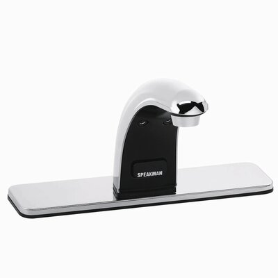 Sensorflo Single Hole Electronic Bathroom Faucet Less Handles - S-8821