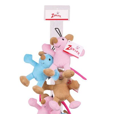 Zanies Nice Mice Dog Toys (12 Pieces)