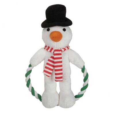Zanies Jolly Jump Rope Friend Dog Toy