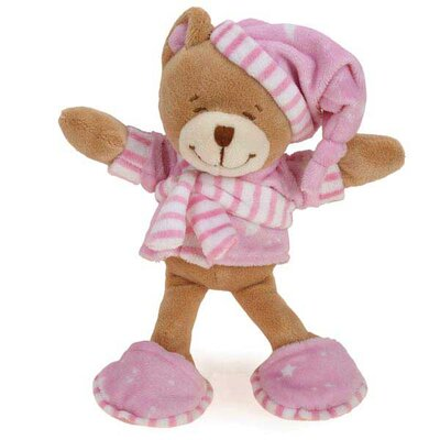 Zanies Sleepy Teddy Dog Toy