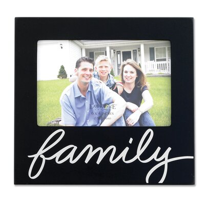 Lawrence Frames Wood Family Picture Frame