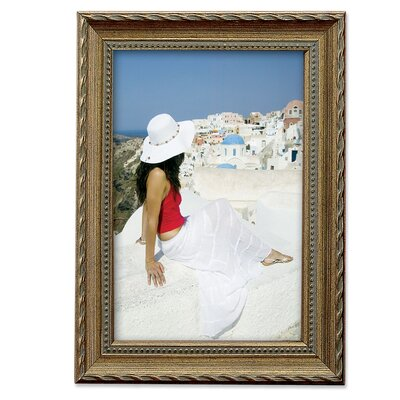 Lawrence Frames Traditional Rope and Bead Border Picture Frame