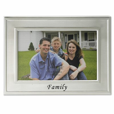Lawrence Frames Sentiments Family Picture Frame