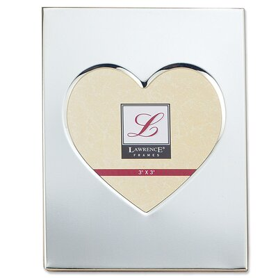 Contemporary Metal Heart Picture Frame