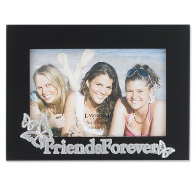 Silver Sentiments Friends Picture Frame