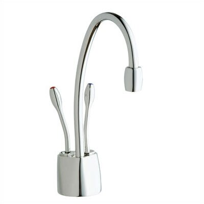 InSinkErator Double Handle Single Hole Hot and Cold Water Dispenser Faucet