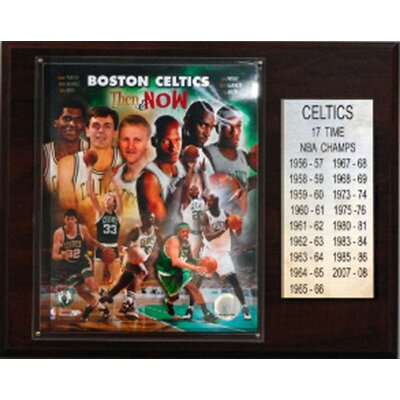 C & I Collectibles NBA Boston Celtics 17 Time NBA Champions Plaque