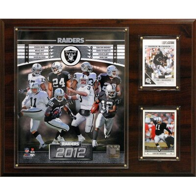C & I Collectibles NFL 2012 Team Plaque