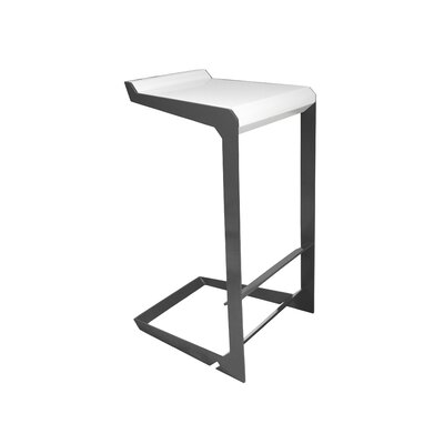 Nolen Niu Laso Barstool with Leather Seat