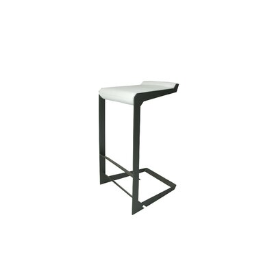 Nolen Niu, Inc. Laso Barstool with Leather Seat
