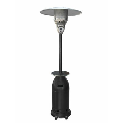 Tall Tapered Propane Patio Heater with Table