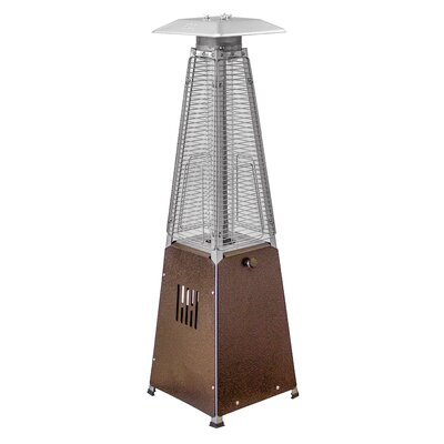 AZ Patio Heaters Portable Glass Tube Gas Patio Heater