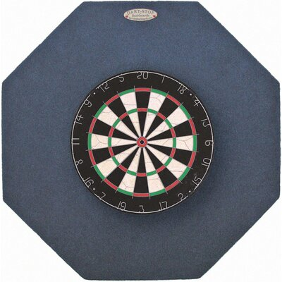 "Dart-Stop Original 36"" Octagonal Backboard in Indigo"