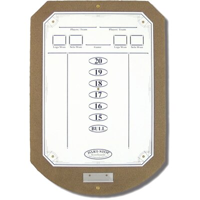 Tan ScoreStation with White Dry-Erase Surface