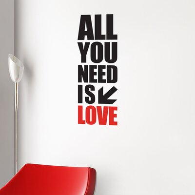 ADZif BlaBla All You Need Wall Decal