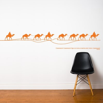 ADZif Spot Caravan Wall Decal
