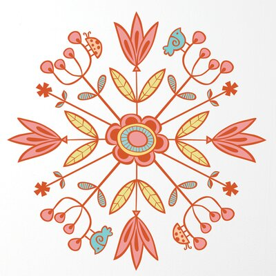 ADZif Spot Mandala Wall Sticker