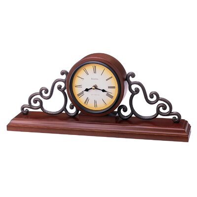 Bulova Strathburm Mantel Clock