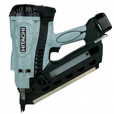 "Hitachi 3.5"" Gas Powered Clipped Head Framing Nailer"