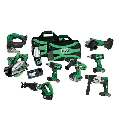 Hitachi 18V 3.0Ah Lithium Ion 9-Tool Combo Kit