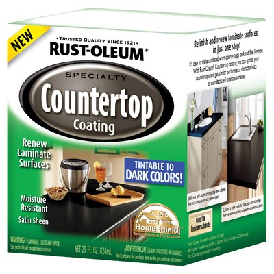 Rust-OleumSpecialty 29-oz. Specialty Countertop Coating Dark Color Tintable Satin