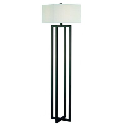 Trend Lighting Corp. Gustavian One Light Floor Lamp in Antique Bronze