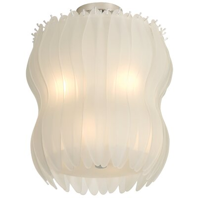 Trend Lighting Corp. Aphrodite II 8 Light Semi Flush Mount