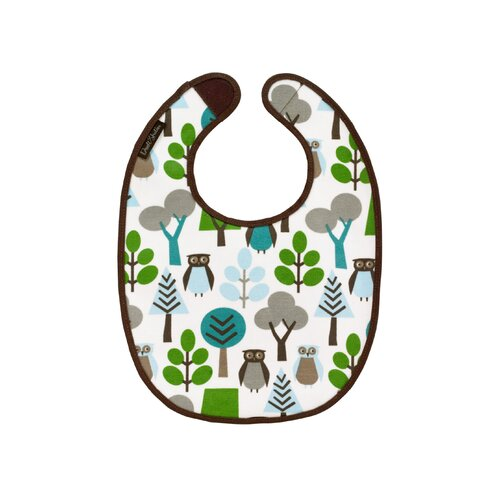 DwellStudio Owls Multi Bib - 2 Pack