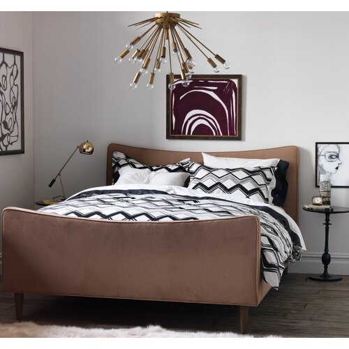 DwellStudio Painted Chevron Duvet Set