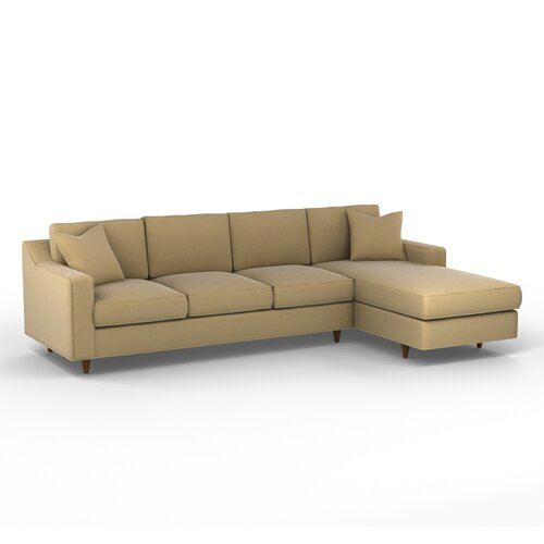 DwellStudio Larkin Right Arm Chaise Sectional Sofa