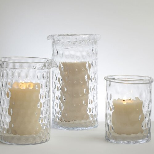 DwellStudio Honeycomb Hurricane Vase