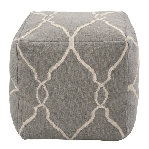 DwellStudio Marrakech Grey Pouf