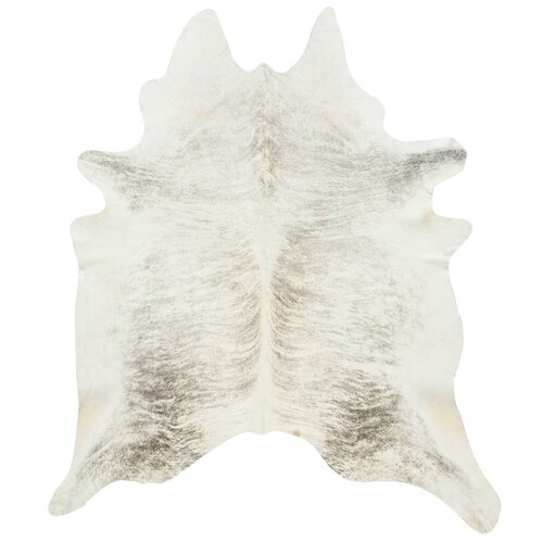 DwellStudio Cowhide in Light Grey