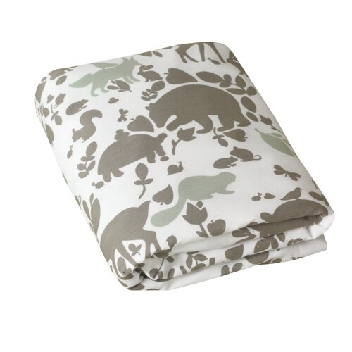 DwellStudio Woodland Tumble Fitted Crib Sheet