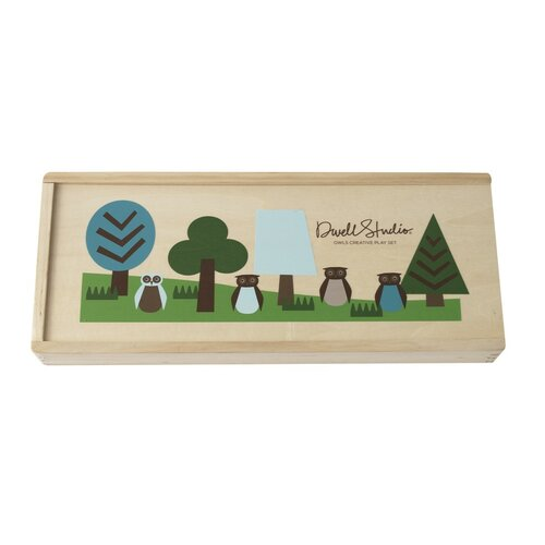 DwellStudio Owls Multi Creative Play Set