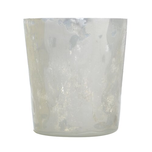 DwellStudio Textured Milk Glass Small Votive