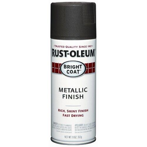 Rustoleum 11 Oz Dark Bronze Bright Coat® Metallic Finish Spray Paint