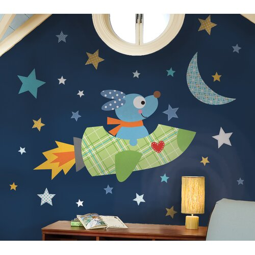 Rocketdog Peel and Stick Giant Wall Decals
