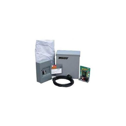 Winco Power Systems Packaged Standby 6000 Watt Tri Fuel Generator with