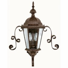 Carriage House 2 Light Outdoor Wall Lantern