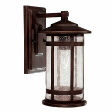 Mission Hills 1 Light Outdoor Wall Lantern